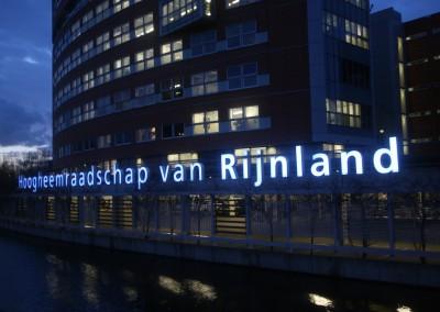 Sign - Hoogheemraadschap van Rijnland